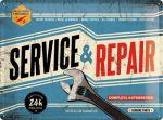 Tin_Sign_30x40_Service_Repair_23187