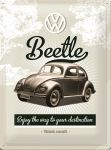 Tin_Sign_30x40cm_Beetle_23166