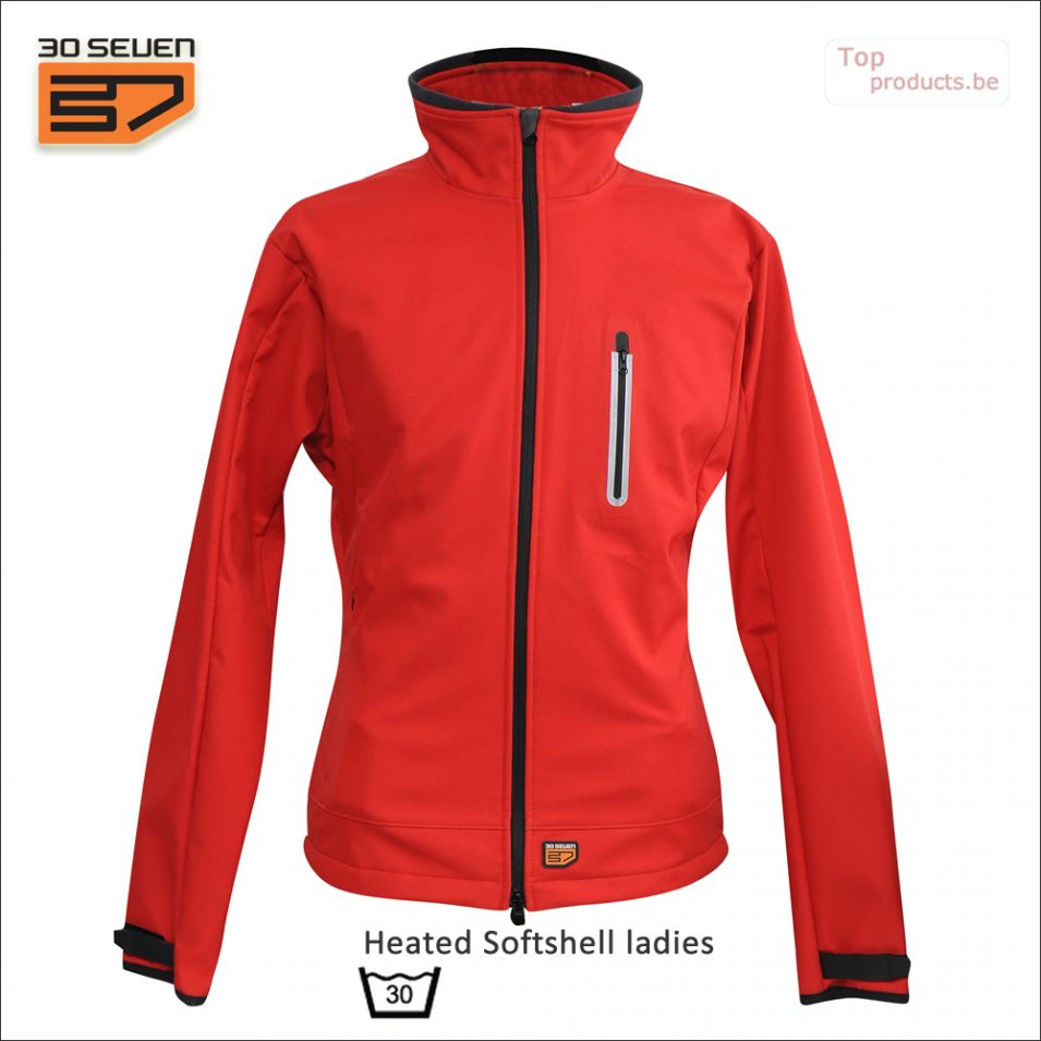 verwarmde_softshelljas_heated_Softshell_lady_red_30seven